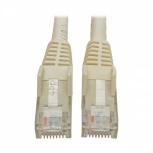Tripp Lite Cable Patch Cat6 UTP Moldeado sin Enganches RJ-45 Macho - RJ-45 Macho, 1.2 Metros, Blanco
