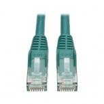 Tripp Lite Cable Patch Cat6 UTP Moldeado Sin Enganches RJ-45 Macho - RJ-45 Macho, 6.1 Metros, Verde