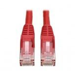 Tripp Lite Cable Patch Cat6 UTP Moldeado Sin Enganches RJ-45 Macho - RJ-45 Macho, 7.62 Metros, Rojo
