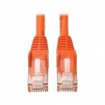 Tripp Lite Cable Patch Cat6 UTP Moldeado Sin Enganches RJ-45 Macho - RJ-45 Macho, 10.7 Metros, Naranja