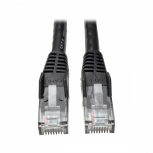 Tripp Lite Cable Patch Snagless Cat6 Gigabit RJ-45 Macho - RJ-45 Macho, 15.2 Metros, Negro