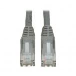 Tripp Lite Cable Patch Cat6 UTP Moldeado Sin Enganches RJ-45 Macho - RJ-45 Macho, 15.24 Metros, Gris