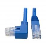 Tripp Lite Cable Patch Cat6 UTP Moldeado Ángulo a la Derecha RJ-45 Macho - RJ-45 Macho, 31cm, Azul