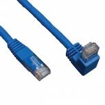 Tripp Lite Cable Patch Cat6 UTP Moldeado en Ángulo Recto RJ-45 Macho - RJ-45 Macho, 3.05 Metros, Azul
