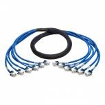 Tripp Lite Cable Patch Cat6 6x RJ-45 Macho -  6x RJ-45 Hembra, 3.1 Metros, Azul