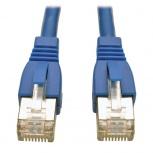 Tripp Lite Cable Patch Cat6a STP Blindado sin Enganches RJ-45 Macho - RJ-45 Macho, 1.52 Metros, Azul