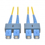 Tripp Lite Cable Fibra Óptica OFNR 2x SC Macho - 2x SC Macho, 10 Metros, Amarillo