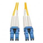 Tripp Lite Cable Fibra Óptica OFNR 2x LC Macho - 2x LC Macho, 6 Metros, Amarillo