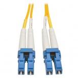 Tripp Lite Cable Fibra Óptica OFNR 2x LC Macho - 2x LC Macho, 7 Metros, Amarillo