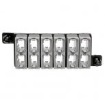 Tripp Lite Módulo de Paso Directo de 12 Adaptadores de Fibra Óptica MTP/MPO, Negro