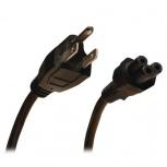 Tripp Lite Cable de Poder NEMA 5-15P Macho - C5 Coupler Macho, 1.8 Metros, Negro