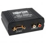 Tripp Lite Adaptador VGA/3.5mm Hembra - HDMI Hembra, Negro