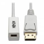 Tripp Lite Adaptador DisplayPort Macho - Mini DisplayPort Hembra, Blanco