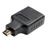 Tripp Lite Adaptador Micro HDMI Macho - HDMI Hembra, Negro