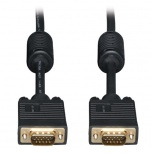 Tripp Lite Cable Coaxial VGA (D-Sub) Macho - VGA (D-Sub) Macho, 30.48 Metros, Negro