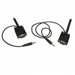 Tripp Lite Cable Coaxial para Monitor, VGA (D-Sub) Macho - VGA (D-Sub) Macho, 4.57 Metros, Negro