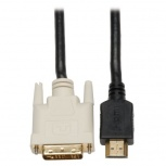 Tripp Lite Cable HDMI Macho - DVI-D Macho, 9.14 Metros, Negro