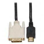 Tripp Lite Cable HDMI Macho - DVI-D Macho, 15.24 Metros, Negro