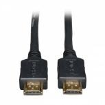 Tripp Lite Cable de Alta Velocidad HDMI Macho - HDMI Macho, 10.7 Metros, Negro