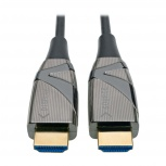 Tripp Lite Cable Óptico Activo de Fibra HDMI A Macho - HDMI A Macho, 20 Metros, Negro