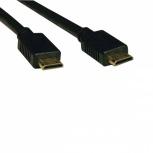 Tripp Lite Cable Mini-HDMI Macho - Mini-HDMI Macho, 1.83 Metros, Negro