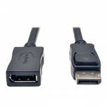 Tripp Lite Cable DisplayPort Macho - DisplayPort Hembra, 1.8 Metros, Negro
