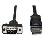 Tripp Lite Cable DisplayPort Macho - VGA Macho, 1.83 Metros, Negro