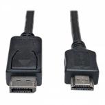 Tripp Lite Cable DisplayPort Macho - HDMI Macho, 91cm, Negro