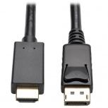 Tripp Lite Cable DisplayPort con Broches Macho - HDMI Macho, 91cm, Negro