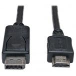 Tripp Lite Cable DisplayPort Macho - HDMI Macho, 6.1 Metros, Negro