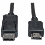 Tripp Lite Cable DisplayPort Macho - HDMI Macho, 7.68 Metros, Negro