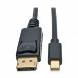 Tripp Lite Cable DisplayPort Macho - Mini DisplayPort Macho, 3 Metros, Negro