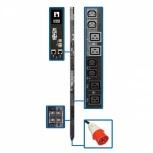 Tripp Lite PDU Trifásico Controlable para Rack ZeroU PDU3XEVSR6G32A, 32A, 24 Contactos