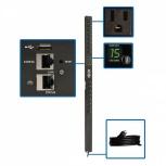 Tripp Lite PDU para Rack ZeroU PDUMNV15LX, 12A, 120V, 16 Contactos