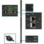 Tripp Lite PDU Monofásico para Rack ZeroU PDUMVR30NETLX, 30A, 100-127V, 24 Contactos