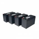 Tripp Lite Juego de Cartuchos de Batería de Repuesto para UPS, 12V