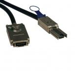 Tripp Lite Cable SFF-8088 Macho - SFF-8470 Macho, 1 Metro, Negro/Plata