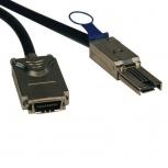 Tripp Lite Cable SFF-8088 Macho - SFF-8470 Macho, 2 Metros, Negro/Plata