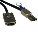 Tripp Lite Cable SFF-8088 Macho - SFF-8470 Macho, 3 Metros, Negro/Plata