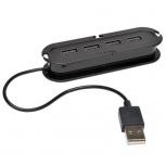 Tripp Lite Ultra-Mini Hub, USB 2.0, 4 Puertos, 480 Mbit/s