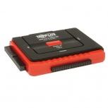 Tripp Lite Adaptador USB 2.0 Macho - SATA/IDE Hembra, Negro/Rojo