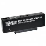 Tripp Lite Adaptador USB 3.0 Micro-B Hembra - 22P SATA Hembra, Negro
