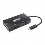 Tripp Lite Docking Station USB-C, 1x HDMI/DVI/VGA, Negro