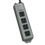 Tripp Lite Multicontactos UL603CB-6, 4 Contactos, 15A, 120V, 1.8 Metros, Negro