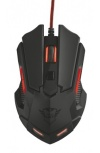 Mouse Gamer Trust Óptico GXT 148 Orna, Alámbrico, USB, 3200DPI, Negro/Rojo