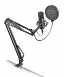 Trust Micrófono GXT 252+ Emita Plus, Alámbrico, 200Ohm