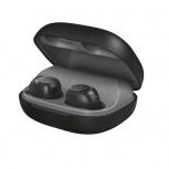 Trust Audífonos Intrauriculares con Micrófono Duet XP, Inalámbrico, Bluetooth 5.0, Negro