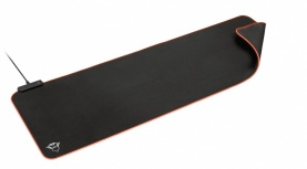 Mousepad Trust GXT 764 Glide-Flex RGB, 93x30cm, Grosor 3mm, Negro