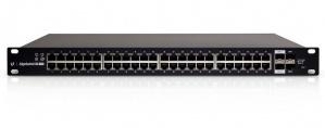 Switch Ubiquiti Networks Gigabit Ethernet ES-48-500W, 48 Puertos 10/100/1000Mbps + 2x SFP + 2x SFP+, 140 Gbit/s, 8000 Entradas - Gestionado