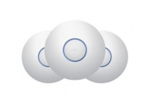 Access Point Ubiquiti Networks UniFi AC Pro, Inalámbrico, 1300 Mbit/s, 2.4-5GHz, 3 Antenas de 3dBi, 3 Piezas - no incluye Adaptador PoE